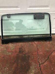 1991 1995 Jeep Wrangler Yj Hard Top Rear Glass Hatch Hardtop Glass Only