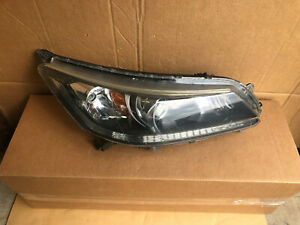 2013 2014 2015 Honda Accord Rh Right Side Halogen Headlight Oem