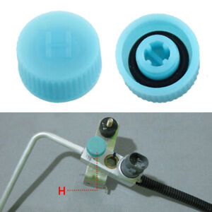 2x High Low Pressure Ac A C System Inflatable Valve Cap Air Conditioning Tools