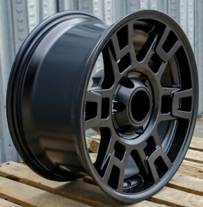 17x9 12 Black Wheels Fits Lifted Toyota 4runner Tacoma 17 Inch Pro Style 6x139
