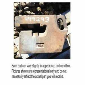 Used Suitcase Weight 100 Lbs Allis Chalmers 8070 8010 8050 8030 70284181