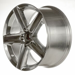 Aftermarket Brand Parts New 20x10 Rear Alloy Wheel Polished Full Face 560 99455