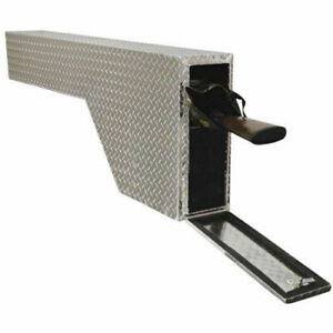 Lund 8228 Wheel Well Tool Box Brite Diamond Plate Length 60 5 Width 8 5 Height