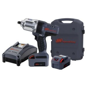 Iqv20 Li Ion 1 2 Drive Impact Wrench Kit With Charger And Two Batteries New