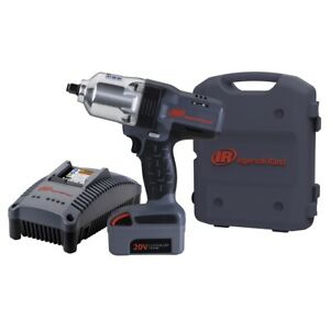 Iqv20 Li ion 1 2 Drive Impact Wrench Kit With Charger And One Battery New