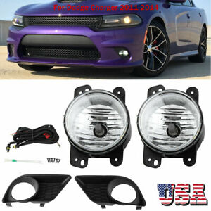 Fog Light Kit W Switch Wiring Harness Fit For Dodge Charger 11 14 68082572aa Us