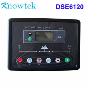 Auto Controller Dse6120 Dse 6120 For Genset Generator Control Module