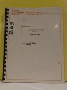 Spectracom 0691 00000 Nbs Frequency Std Receiver Model 8163 Instruction Manual