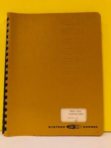 Systron Donner Model 6250 Counter timer Instruction Manual
