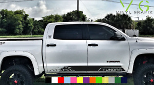 Toyota Tundra Vinyl Decal Sticker Graphics Trd Sport Side Door X2 Any Color 018