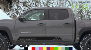 Toyota Tacoma Vinyl Decal Sticker Graphics Trd Sport Side Door X2 009