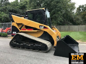 2005 Caterpillar 287b Rubber Track Skid Steer Loader Cab Ac Crawler Diesel Cat