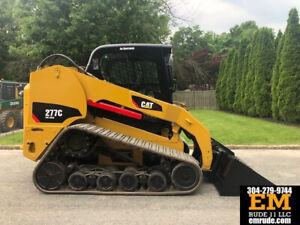 2007 Caterpillar 277c Rubber Track Skid Steer Loader Cab Diesel Crawler Cat 277