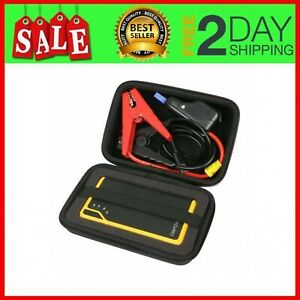 Hard Case Portable Car Jump Starter Protect Power Bank Charger Battery Booste