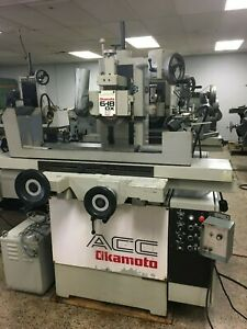 6 X 18 Okamoto acc 6 18dx2 Two axis Hydraulic Surface Grinder Reduced