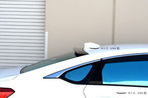 Hic Usa 2018 To 2020 Accord 4dr Rear Roof Window Visor Spoiler