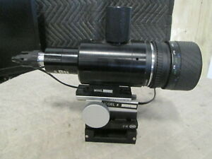 X And Y Table Illuminated Microscope Assembly