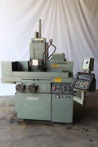 Used 8 x18 Brown Sharpe 818 Techmaster Hydraulic Surface Grinder