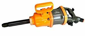 1 Air Impact Wrench Pin Less Hammer 3800 Rpm 2200 Ft Lb With Socket Set