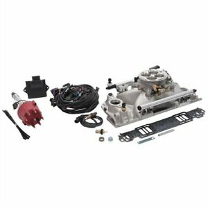 Edelbrock 35690 Pro flo 4 Efi System 1986 Earlier Small Block Chevy Sequential