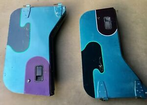Jeep Yj Half Doors 87 95 Wrangler Cj7 Steel Hard Door Cj7 Lower Teal