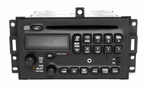 Pontiac Grand Prix 2004 2008 Am Fm Cd Player Radio W Aux Input U1p 10352018