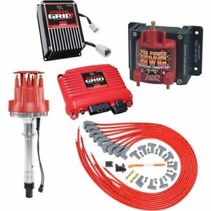 Msd Ignition 7730k1 Power Grid Ignition System Kit Small Block Chevy