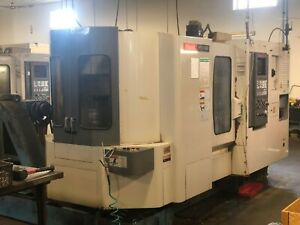 Mazak Htc 400 Cnc Horizontal Machining Center