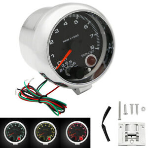 High Quality Universal Car 3 75 Inch Tachometer Tacho Gauge Meter Shift Light