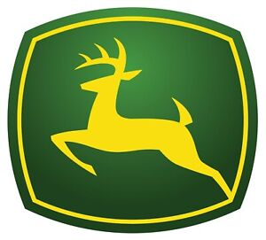 John Deere Logo Wall Decal Truck Vehicle Window Car Decor Laptop 3m Sticker Lo87