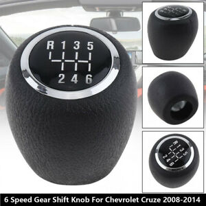 6 Speed Shift Car Gear Knob Stick Shifter Lever For Chevrolet Cruze 2008 2014