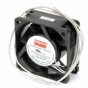 Dayton Axial Fan 115 Volts Ac 3 3 Watts 18 Cfm Model 2rte4