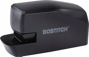 Bostitch Portable Electric Stapler 20 Sheets Ac Or Battery Powered Black Office