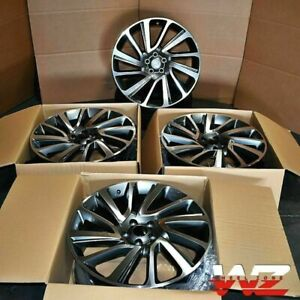 22x9 5 Sv Style Wheels Fit Range Rover Land Rover Hse Lr3 Sport 5x120 Rims Set 4