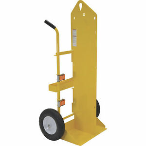 Vestil Welding Cylinder Torch Cart Foam filled Wheels cyl eh ff
