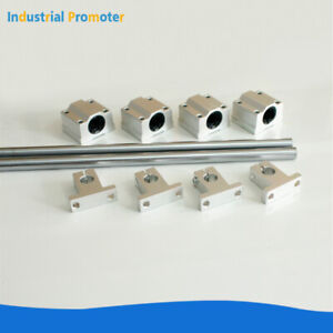 10pcs Od 8 10 12 16mm Rail Linear Optical Axis Shaft Rod Support Bearing Block