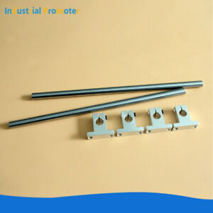2pcs Od 8 10 12 16mm Rail Linear Optical Axis Shaft Rod With 4pcs Support Sk8 Sk