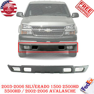 Front Bumper Lower Valance Air Deflector For 2002 2007 Chevrolet Silverado