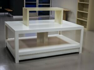 Retail Display Table Multi tier