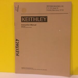 Keithley Model 155 Null Detector Microvoltmeter Instruction Manual