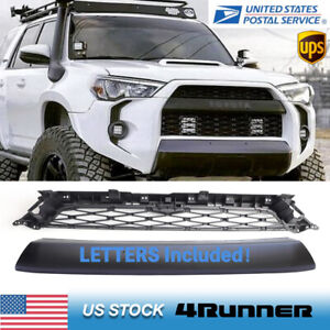 For 2014 2019 4runner Trd Pro Front Bumper Grille Replacement 2pcs