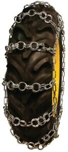 Rud Double Ring Pattern 11 2 34 Tractor Tire Chains Nw744 2cr