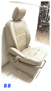 2008 2010 Chrysler Town country Driver Fr Seat Bucket Leather Manual Oem