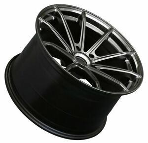 18x9 5 Xxr 568 5x120 38 Chromium Black Wheels Set Of 4