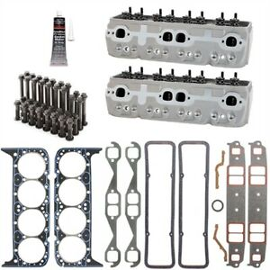 Brodix 1021001k Ik 200 Series Cylinder Head Kit Small Block Chevy 200cc Includes