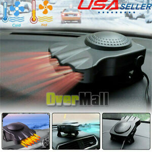 12v Car Heater Cooler Demister Windscreen Screen Defroster Dash The Best Heating