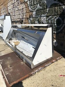 Commercial Stainless Steel Kitchen Food Truck Low End Exhaust Hood 72 x 36