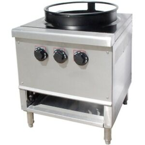 Single Ring Burner 16 Chinese Wok Range Propane Gas Owst 018 3r Nsf Approved