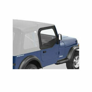 Fits Jeep Wrangler Yj Black Denim Door Half 51780 15
