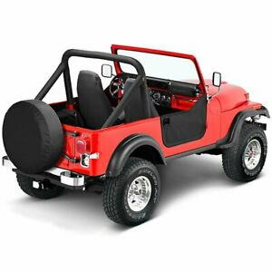 Fits Jeep Cj 7 80 86 Wrangler Yj 87 95black Crush Door Half 53038 01